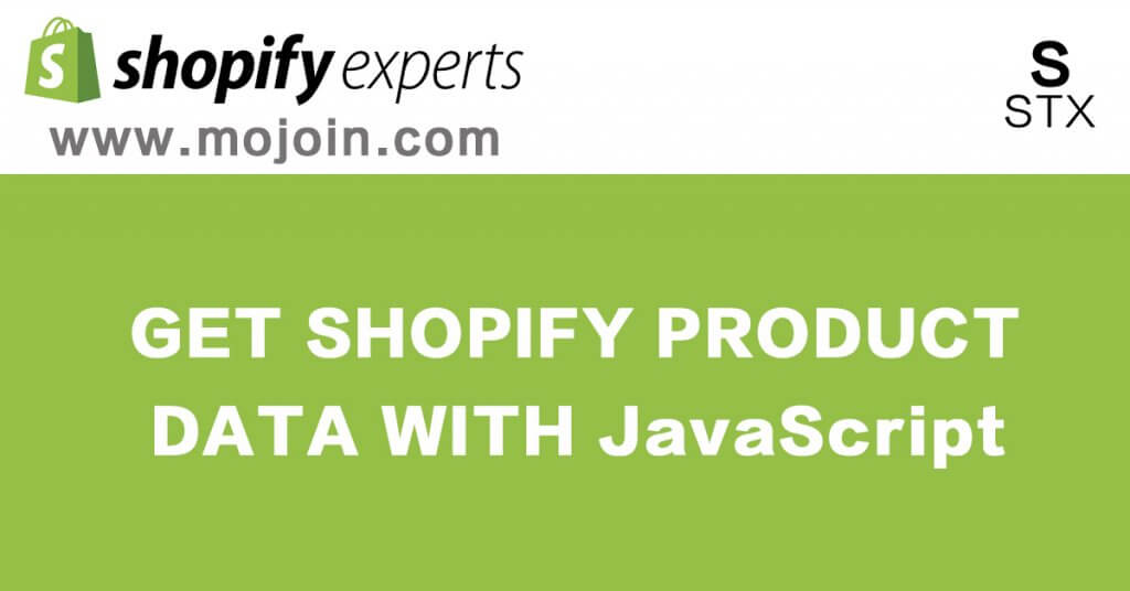 get shopify product data  json data